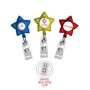 Retract-A-Badge™ Star Badge Holder